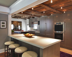 House in Redding, Fairfield County, CT transitional-kitchen
