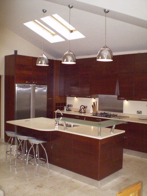 House in Rochestown, Cork contemporary-kitchen
