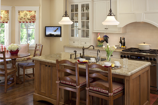 House in Sonoma traditional kitchen