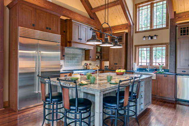 House in the tree tops craftsman kitchen nashville for Style kitchen nashville