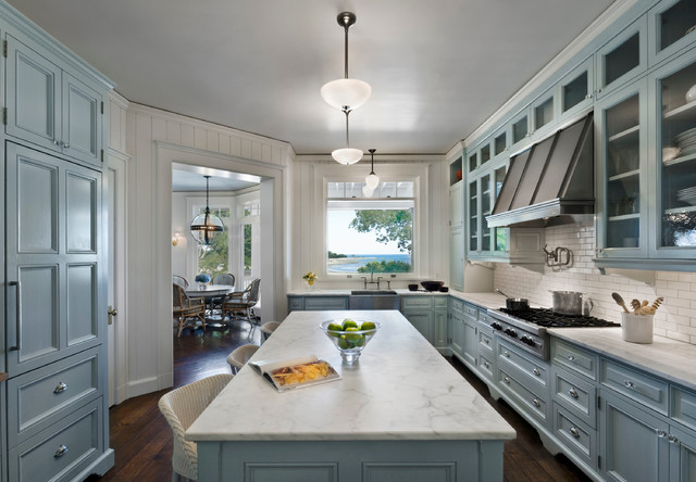 House In Westport Connecticut Beach Style Kitchen Other Metro By Gary Brewer Robert A M