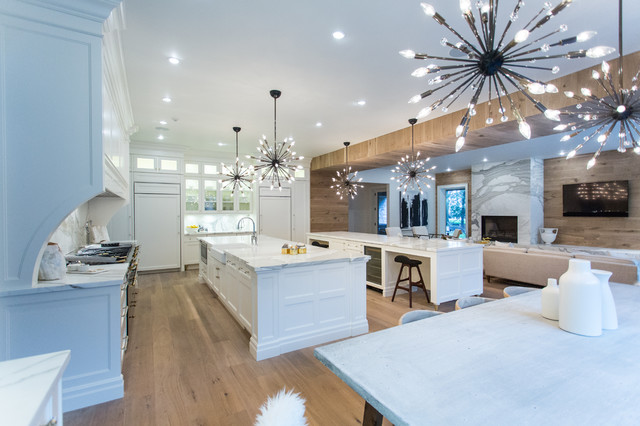 House Of Bryan Transitional Kitchen Toronto By Top