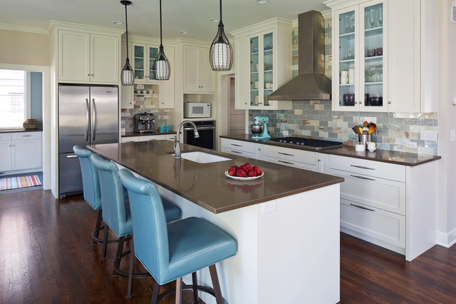 House of Turquoise Kitchen traditional-kitchen