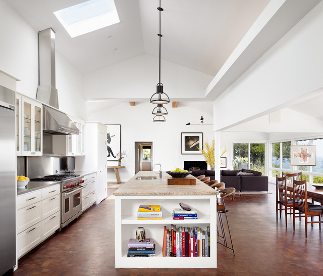 Kitchen Open To Family Room Pictures: Open Or Closed Kitchen? Which Concept Do You Prefer And