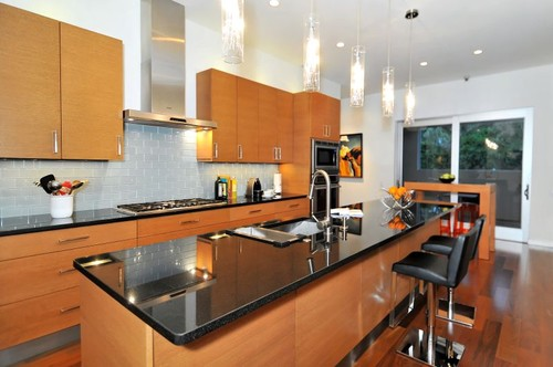 modern kitchen House on Bonita Court Sarasota FL