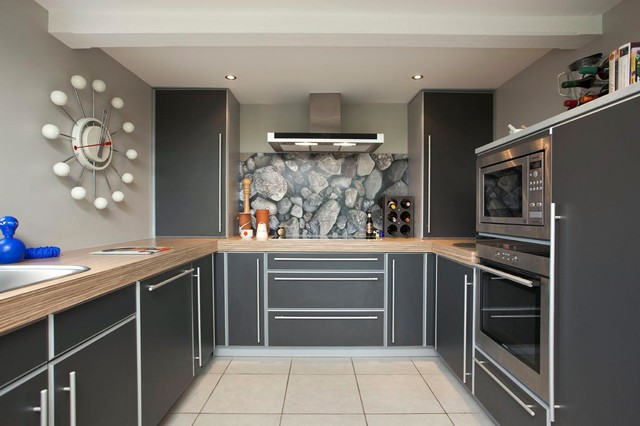 House refurbishment bangor contemporary kitchen belfast by leon smith architects Leon house kitchen design