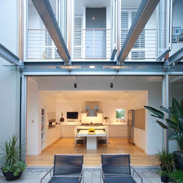 Contemporary Urban Kitchen St Albans: House Union Street I