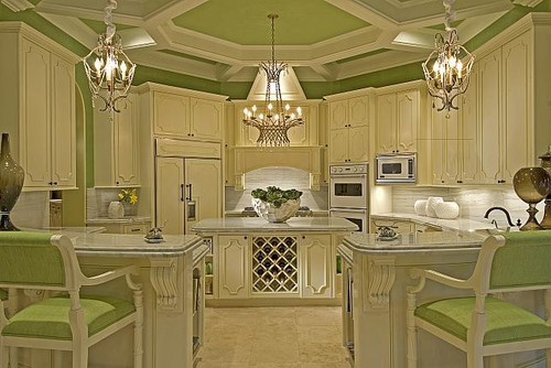 Houston Estate eclectic kitchen