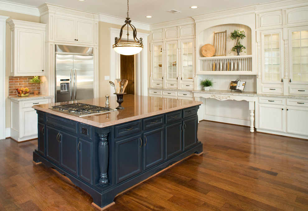 Houston Heights Project 2 - Traditional - Kitchen ...