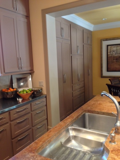 Houston New Construction transitional-kitchen
