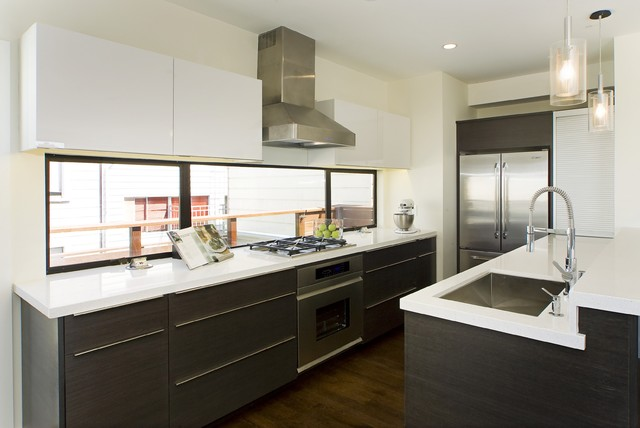 Houzz Kitchen Photos - Modern - Kitchen - Other - by Studio Marler