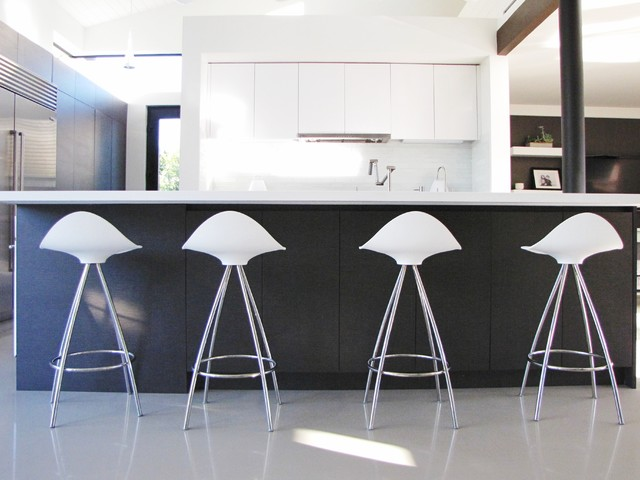 Houzz Tour A Labor Of Modern Love In Costa Mesa Midcentury Kitchen Orange County By