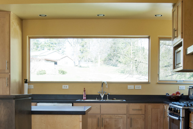Tour living green in greensburg pennsylvania modern kitchen