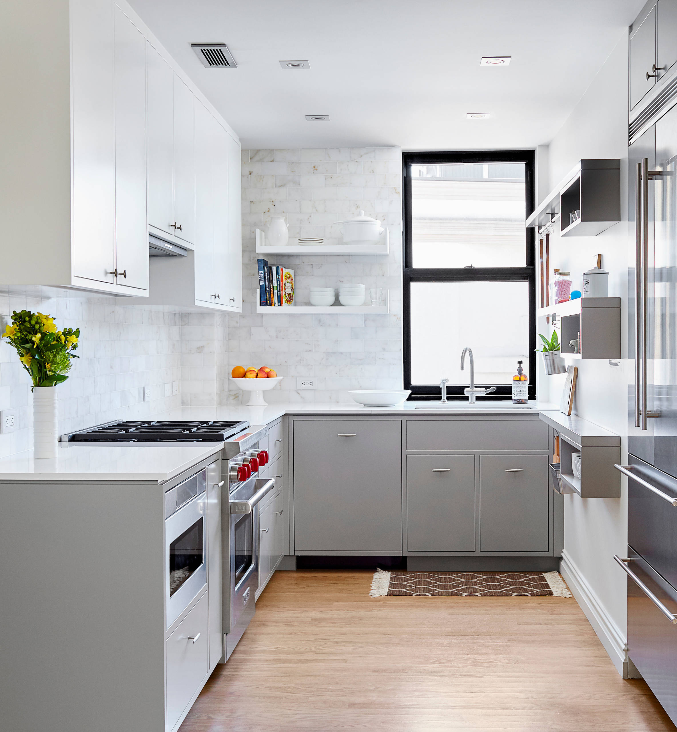 75 beautiful small white kitchen pictures & ideas - august