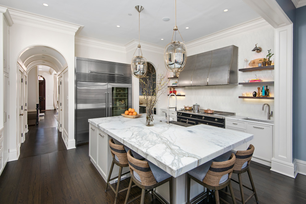 Hudson Kitchen in Lincoln Park, Chicago - Modern - Kitchen ...