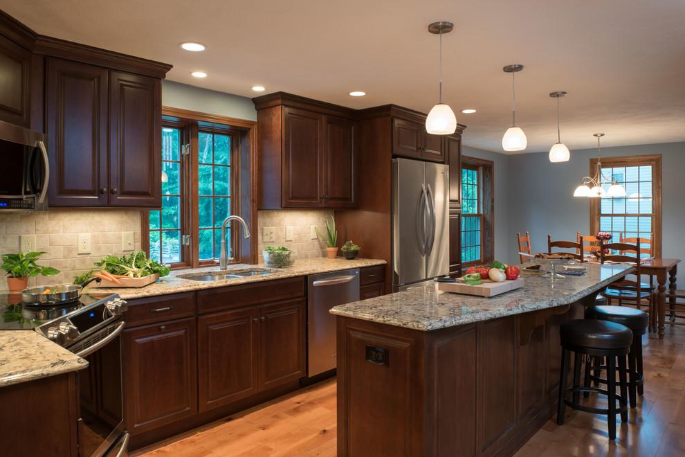 Hudson NH Kitchen Remodel - Transitional - Kitchen ...
