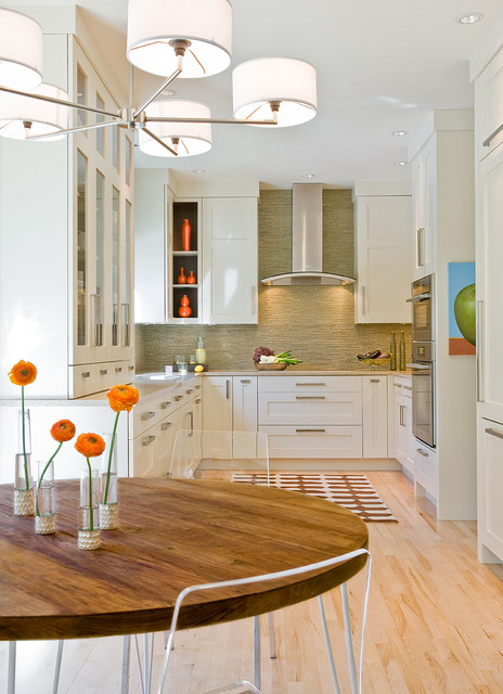 Superior Hudson Road Residence Transitional Kitchen