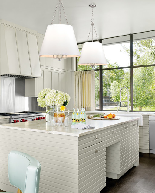 Hudson Valley Transitional Kitchen
