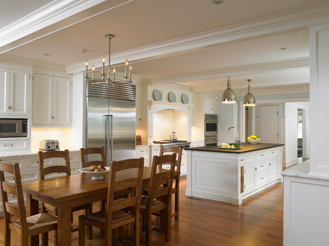 Huestis Tucker Architects Llc Traditional Kitchen