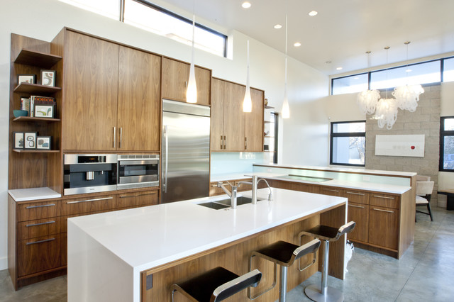 huff residence modern kitchen denver by design