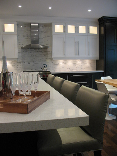 Humber Heights Renovation contemporary-kitchen