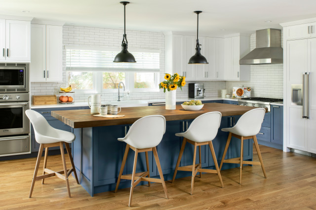 Plan Your Kitchen Island Seating To