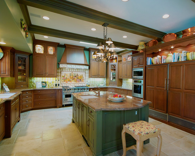 Hunter project traditional-kitchen