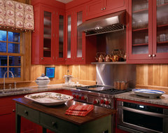 Hunting Lodge - Oxford, Maryland rustic-kitchen