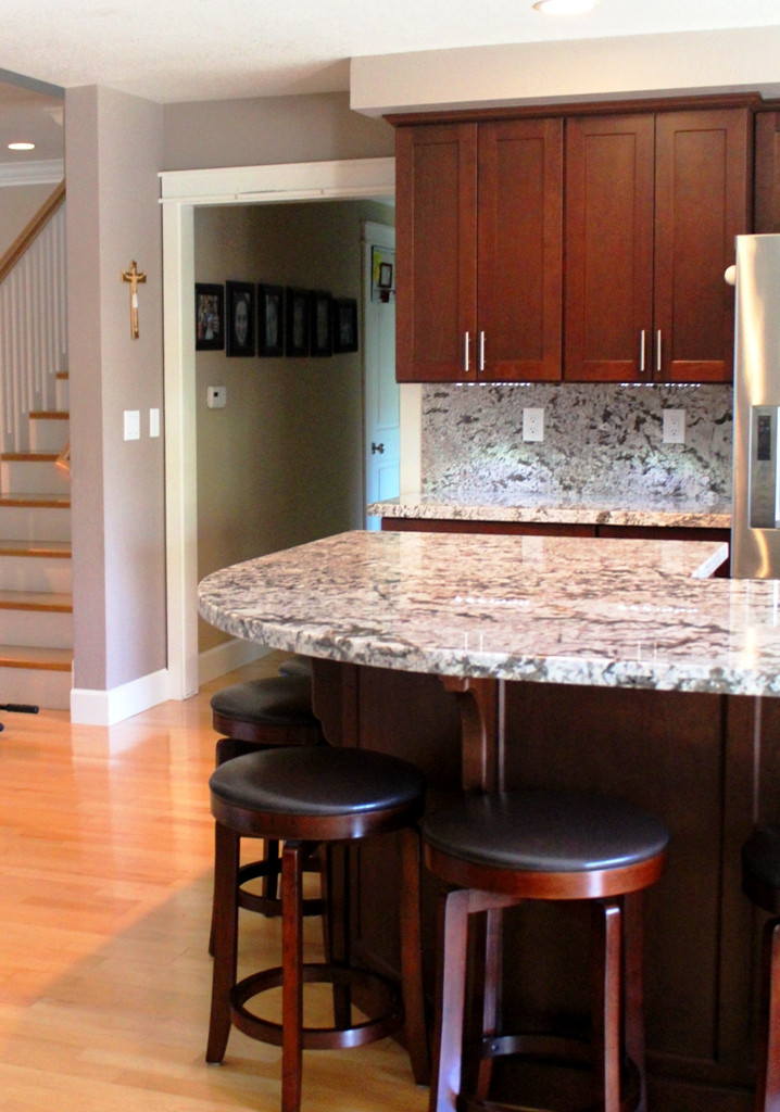 Open plan - Kitchen and great room