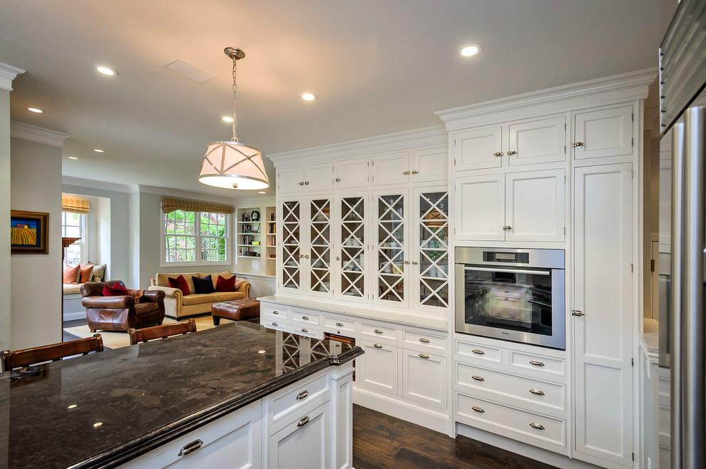 美式厨房厨房岛台装饰效果图