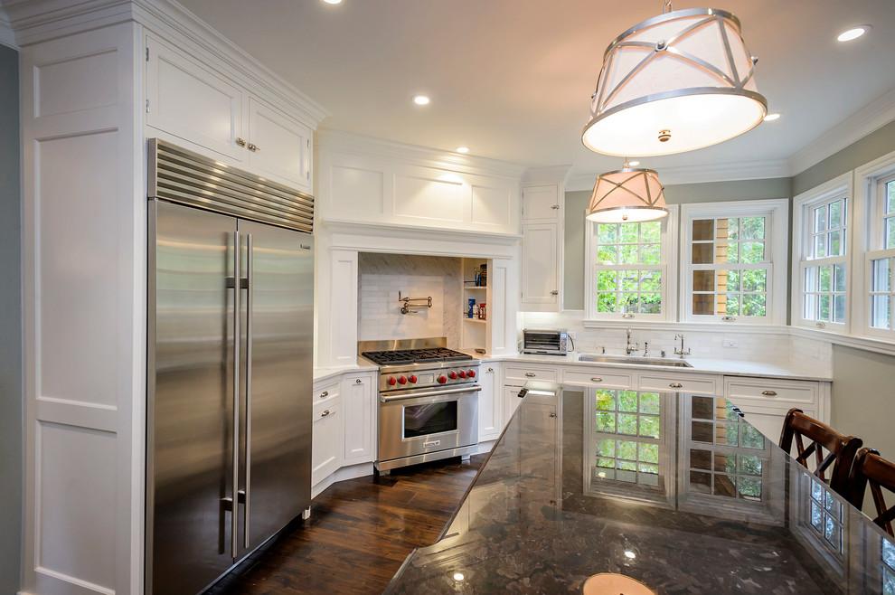 厨房米色灯具美式风格装饰图片