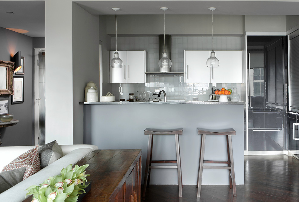 Huron High Rise - Transitional - Kitchen - Chicago - by ...