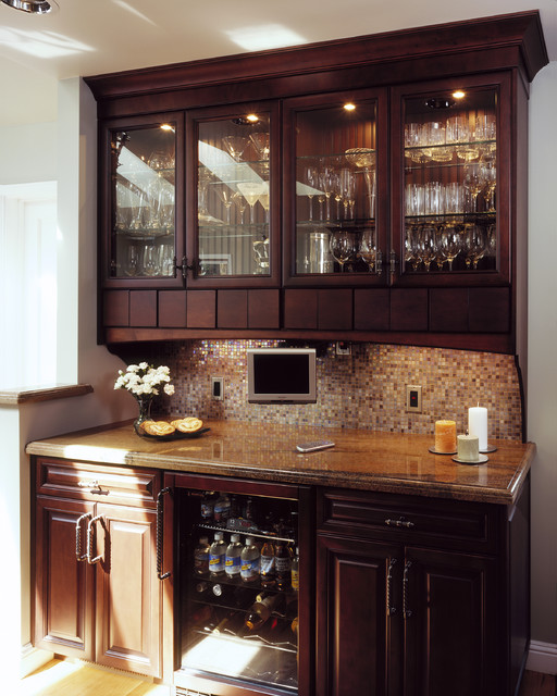Hutch for Built in kitchen bar