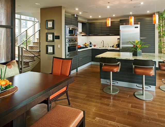 Huxford Bayside contemporary-kitchen