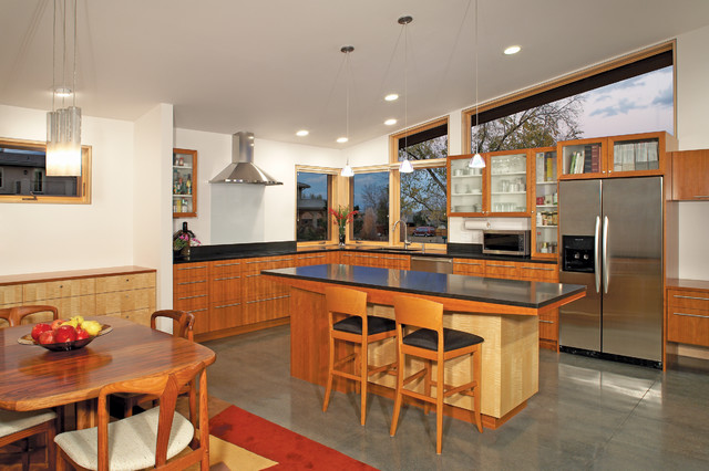 Hybrid Home contemporary-kitchen