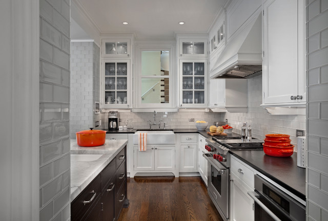 Glass Subway Tile Backsplash | Houzz