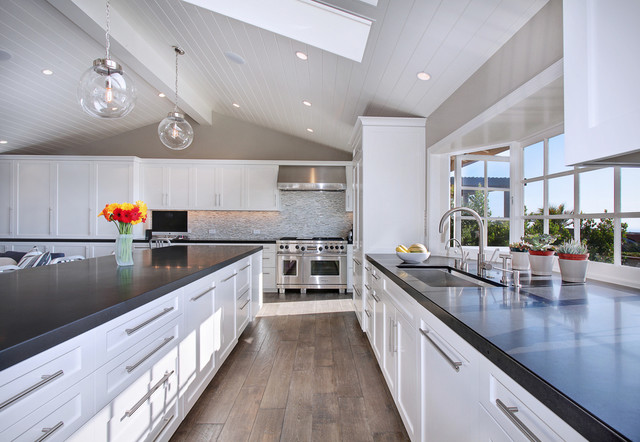 Hykes Residence - Transitional - Kitchen - orange county - by Anders Lasater Architects