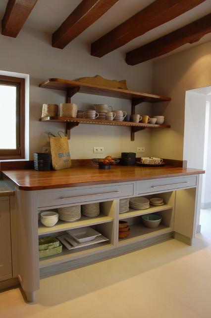 Cocinas Casa De Campo | Ibiza Villa Kitchen In Guild Anderson Modern Shaker Casa De