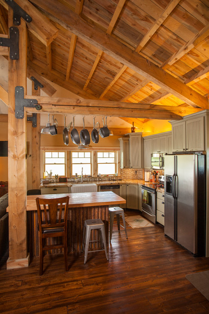 idaho barn home traditional kitchen other metro by