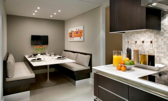 Larch contemporary kitchen chicago by studio snaidero chicago