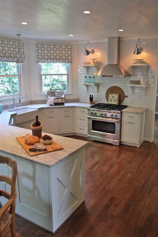 Ideas for Marble & Granite Countertops - Farmhouse ... on Farmhouse Granite Countertops  id=74825