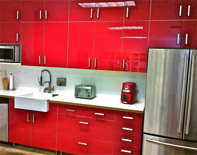red kitchen cabinets ikea ikea abstrakt 25179