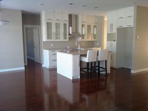 Need help matching paint to Adel-white cabinets