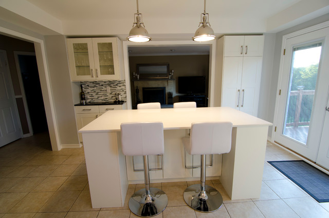 ikea and semi custom kitchens contemporary kitchen toronto by