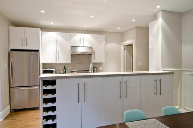 IKEA and Semi-custom kitchens eclectic-kitchen