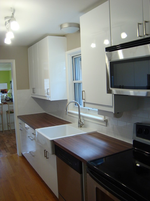 IKEA Galley Kitchen - Modern - Kitchen - toronto - by Honey Do Contractors