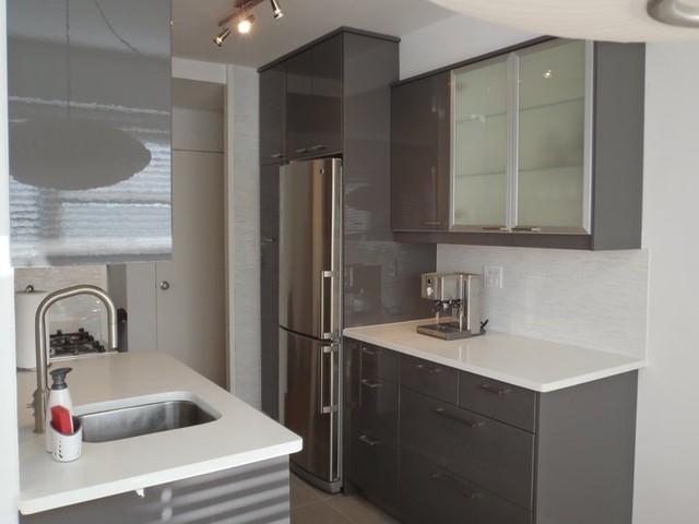 Bc15 L01 Modern White High Gloss Lacquer Bathroom Cabinet