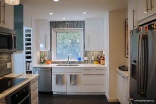 Ikea kitchen modern kitchen edmonton by amr for Interior design companies edmonton
