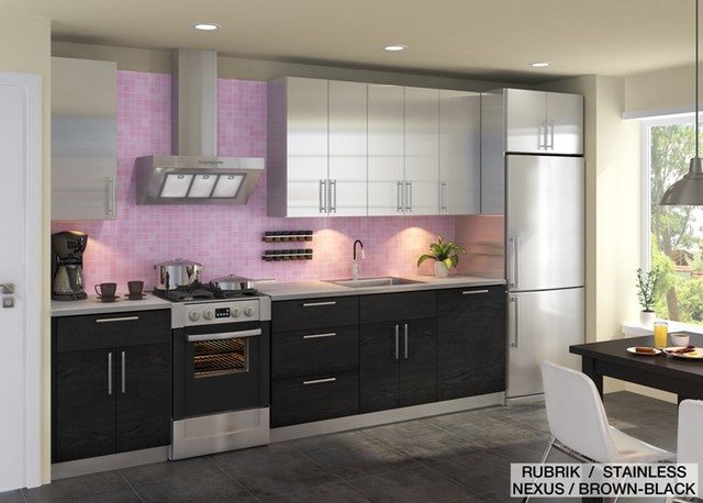 Ikea kitchen design online previous projects contemporary kitchen other metro by ikd - Kitchen designers online ...