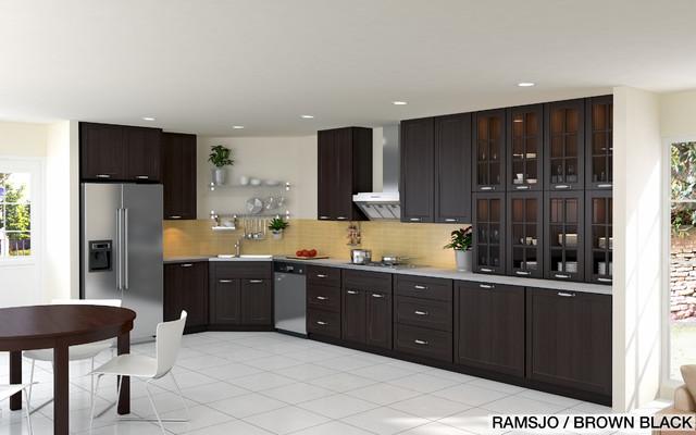 Deco Chambre Beige Marron : Ikea Kitchen Design Online Previous Projects  Contemporain  Cuisine